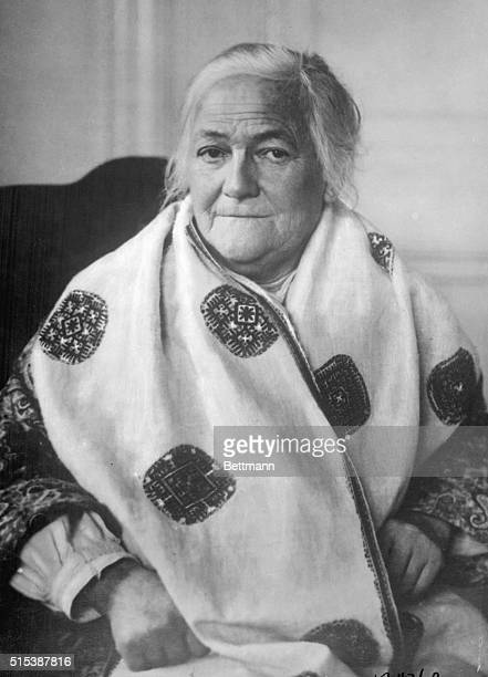Portrait of German Communist Clara Zetkin circa 1925