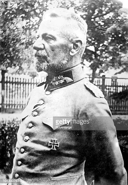 Portrait of German General Max Karl Wilhelm von Gallwitz who served on the Eastern and Western fronts during World War I ca 1910s
