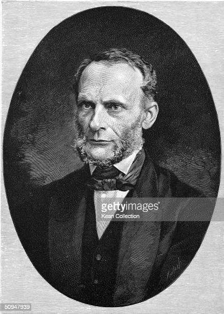 Portrait of German mathematician and physicist Rudolf J E Clausius who was one of the founders of the laws of thermodynamics 1880s