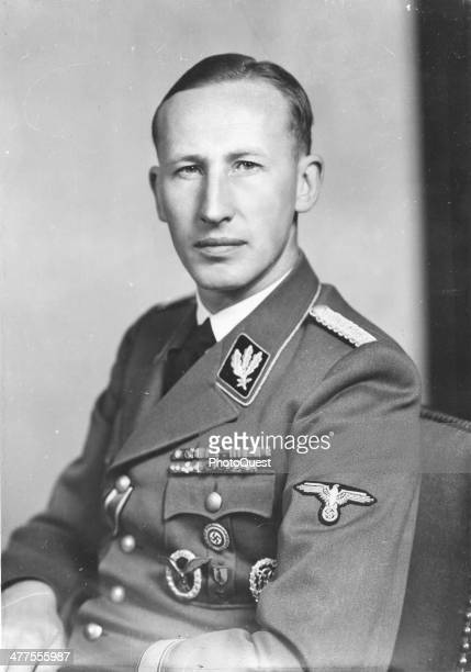 Portrait of German military and political leader and highranking Nazi official Reinhard Heydrich late 1930s or early 1940s