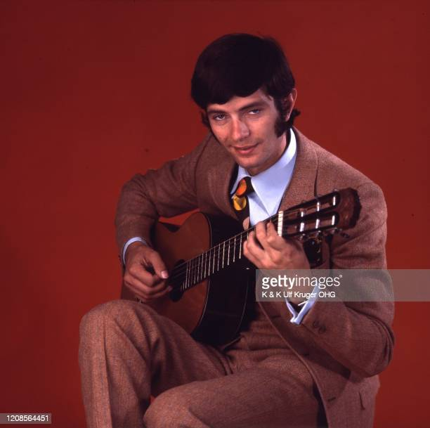 Portrait of German singer Peter Horton, Hamburg, Germany, circa 1967.