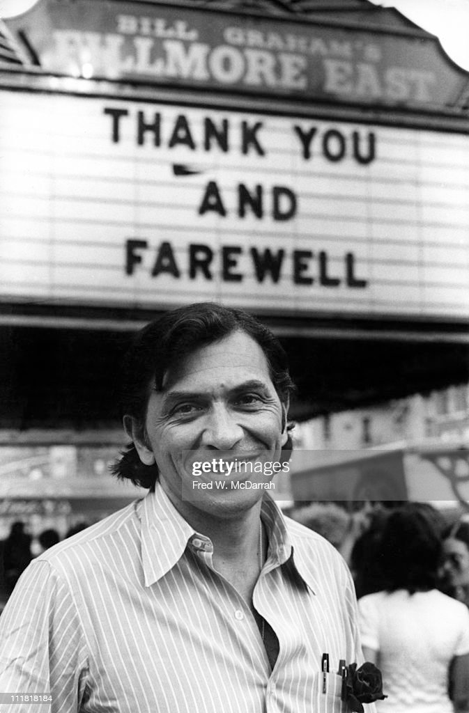 Farewell To The Fillmore East : News Photo