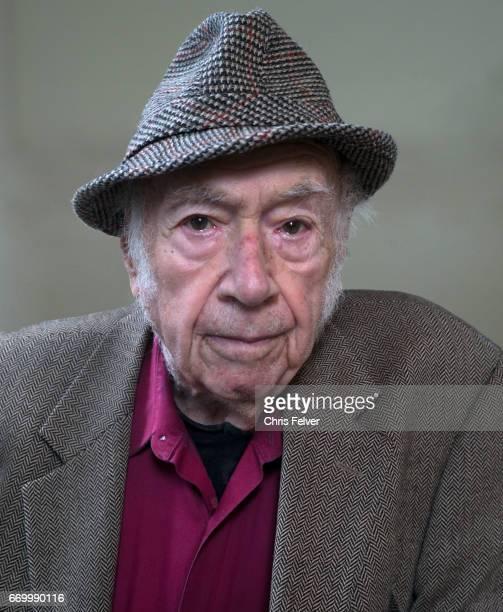 Portrait of Germanborn American art historian Peter Selz Berkeley California March 20 2017