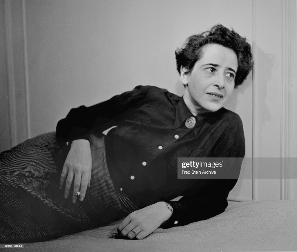 Portrait Of Hannah Arendt : News Photo