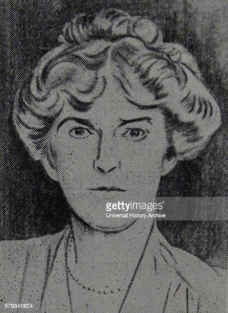 Portrait of Gertrude Bell English writer traveller political officer administrator spy and archaeologist Dated 20th Century