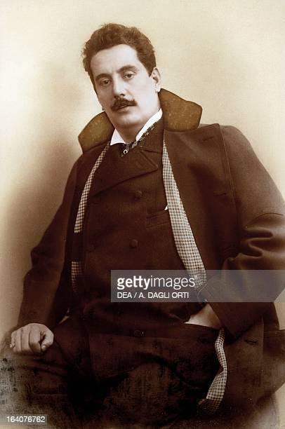 Portrait of Giacomo Puccini , Italian composer, 1900. Torre Del Lago Puccini, Museo Villa Puccini