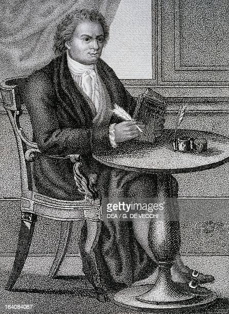 Portrait of Giambattista Bodoni Italian printer publisher and engraver Milan Pinacoteca Di Brera