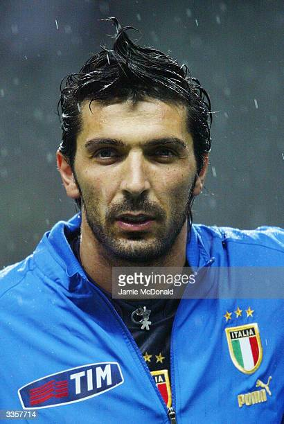 Portrait of Gianluigi Buffon of Italy taken before the International Friendly match between Portugal and Italy held on March 31 2004 at the Estadio...