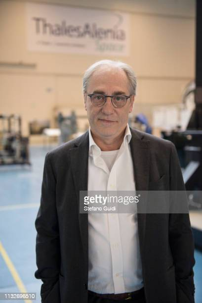 Portrait of Giorgio Cabodi PM AirlockHuman space flight related to Airlock during the press presentation for the International Space Station at...