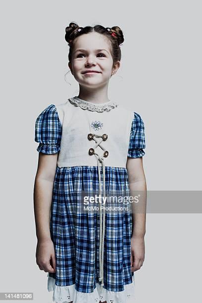 portrait of girl - 7yrs, caucasian