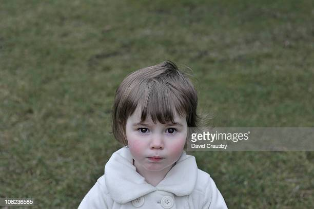 portrait of girl aged two years - 2 3 years stock pictures, royalty-free photos & images