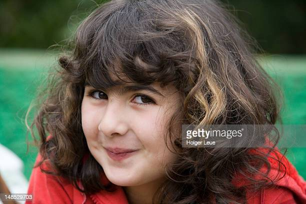 portrait of girl at sunday market. - day of the week stock pictures, royalty-free photos & images
