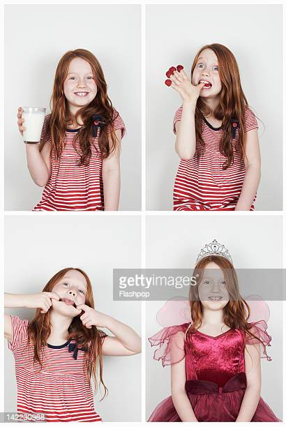 Portrait of girl having fun