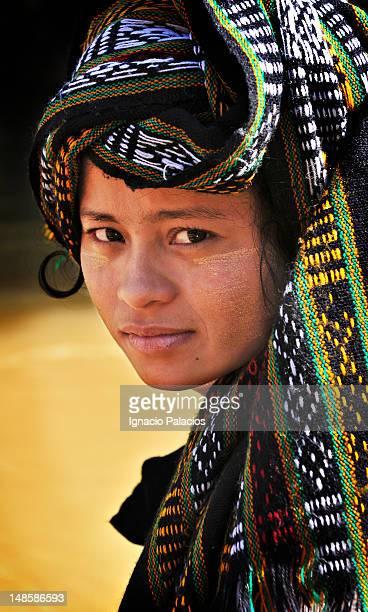 Portrait of girl in Mingala Market.