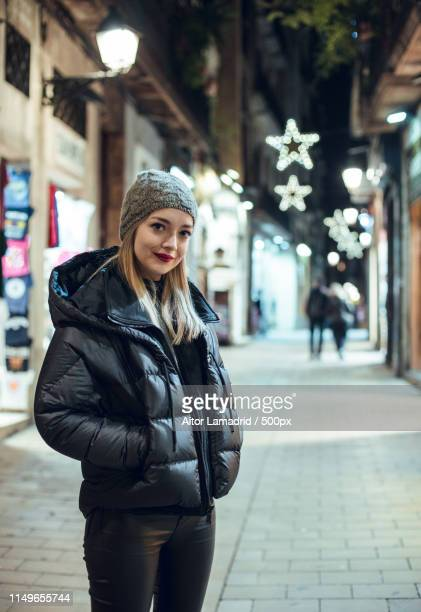 portrait of girl in winter - wishful skin stock pictures, royalty-free photos & images