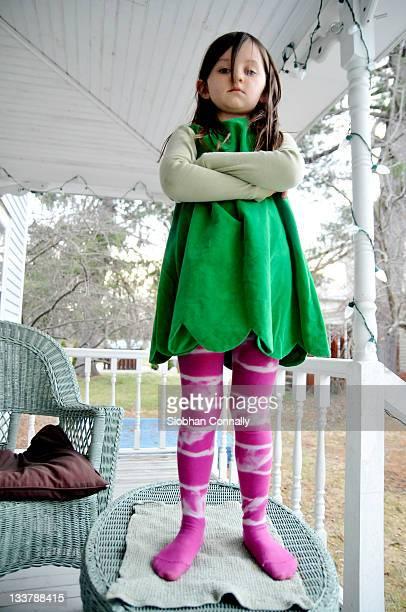 portrait of girl - bambine in mutande foto e immagini stock