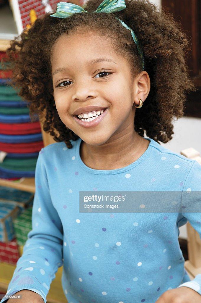 Portrait of girl : Stockfoto