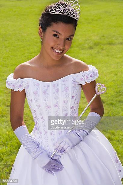 portrait of girl - scepter stock pictures, royalty-free photos & images