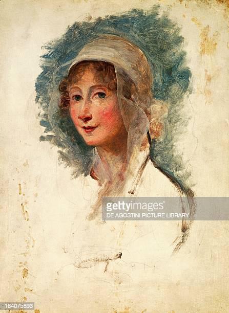 Portrait of Giulia Bonesana Beccaria daughter of Cesare Beccaria and mother of Alessandro Manzoni Milan Pinacoteca Di Brera
