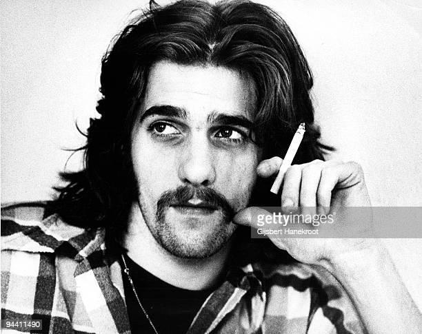 A portrait of Glenn Frey of The Eagles in London in 1973