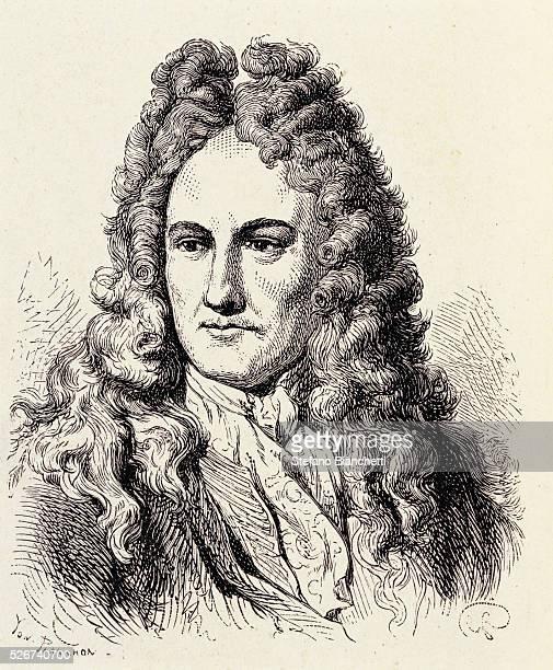 Portrait of Gottfried Leibnitz