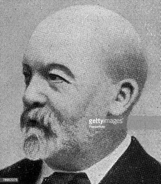 A portrait of Gottlieb Wilhelm Daimler the German engineer who was integral in inventing the motor vehicle