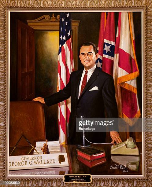 Portrait of Governor George Wallace Montgomery Alabama 2010