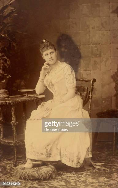 Portrait of Grand Duchess Alexandra Georgievna of Russia circa 1888 Found in the collection of Russian State Film and Photo Archive Krasnogorsk