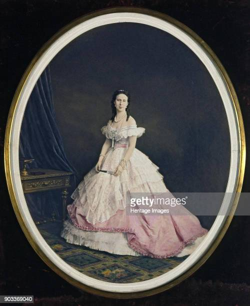 Portrait of Grand Duchess Alexandra Iosifovna of SaxeAltenburg Found in the Collection of State Hermitage St Petersburg