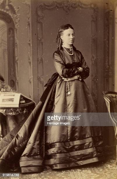 Portrait of Grand Duchess Alexandra Petrovna of Russia , Princess of Oldenburg, 1874. Found in the collection of Russian State Film and Photo...