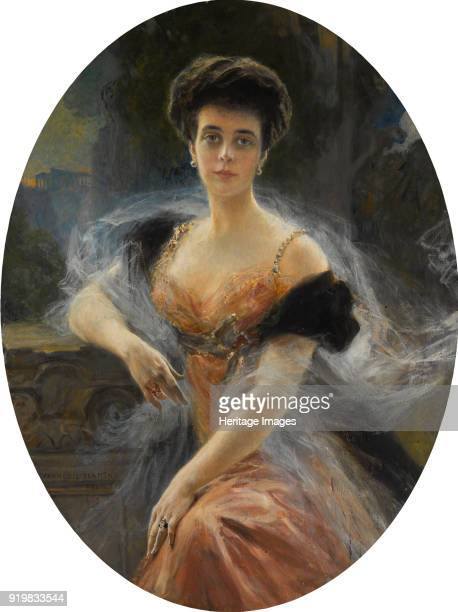 Portrait of Grand Duchess Elena Vladimirovna of Russia 1905 Private Collection