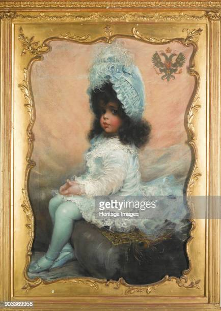 Portrait of Grand Duchess Elena Vladimirovna of Russia Private Collection