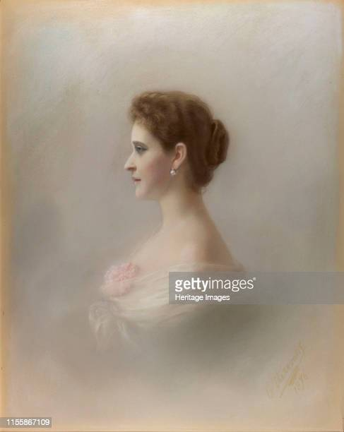 Portrait of Grand Duchess Elizaveta Fyodorovna , Princess Elizabeth of Hesse and by Rhine, 1896. Found in the Collection of Royal Collection, London....