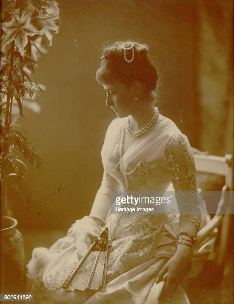Portrait of Grand Duchess Elizaveta Fyodorovna Princess Elizabeth of Hesse and by Rhine Found in the Collection of State Museum Arkhangelskoye Estate...