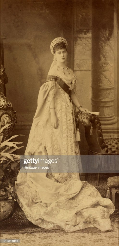 Portrait Of Grand Duchess Elizaveta Fyodorovna (1864-1918) : News Photo