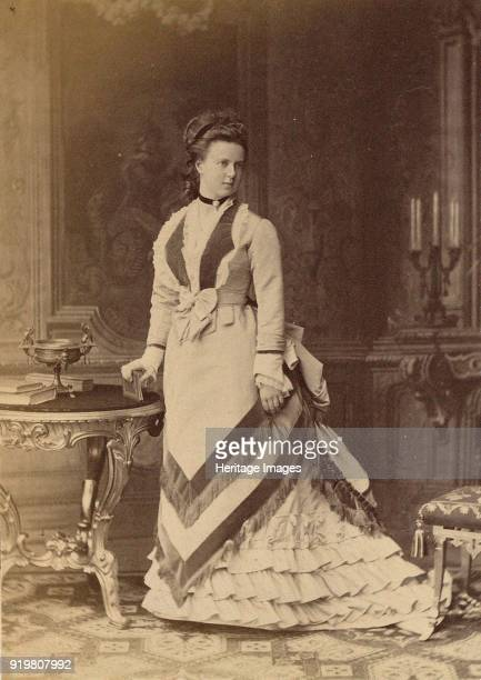 Portrait of Grand Duchess Maria Alexandrovna of Russia Duchess of SaxeCoburg and Gotha 1873 Found in the collection of Russian State Film and Photo...
