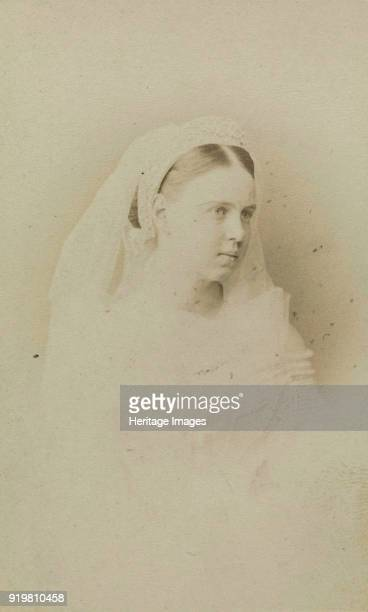 Portrait of Grand Duchess Maria Alexandrovna of Russia Duchess of SaxeCoburg and Gotha circa 1871 Found in the collection of Russian State Film and...