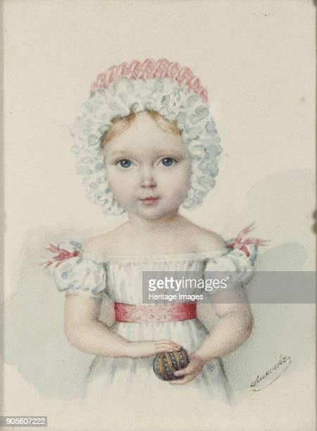 Portrait of Grand Duchess Maria Nikolaevna of Russia Private Collection