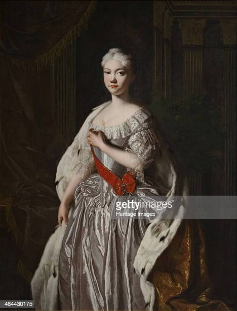 Portrait of Grand Duchess Natalya Alexeyevna of Russia End 1720s From a private collection