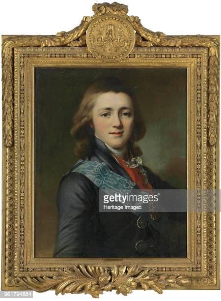 Portrait of Grand Duke Alexander Pavlovich of Russia Private Collection