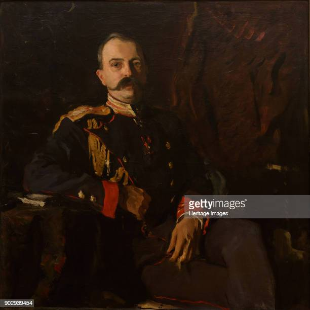 Portrait of Grand Duke George Mikhailovich of Russia Found in the Collection of State A Radishchev Art Museum Saratov