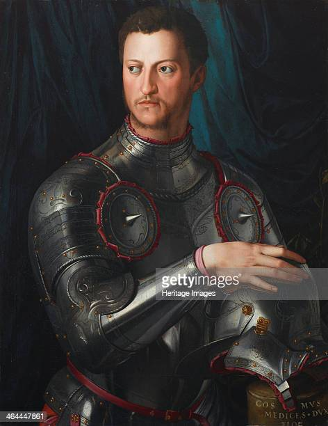 Portrait of Grand Duke of Tuscany Cosimo I de' Medici in armour ca 1545 Found in the collection of the Art Gallery of New South Wales