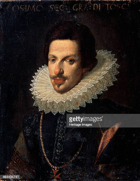 'Portrait of Grand Duke of Tuscany Cosimo II de' Medici' 17th century Cosimo II de' Medici was Grand Duke of Tuscany from 1609 until 1621 when he...