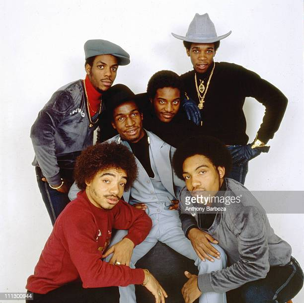 Portrait of Grandmaster Flash and the Furious Five New York December 1980