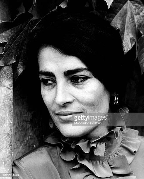 Portrait of Greek actress Irene Papas Venice 1970