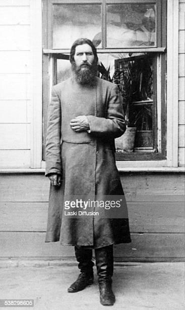 A portrait of Grigori Rasputin ca 1905 in Russia