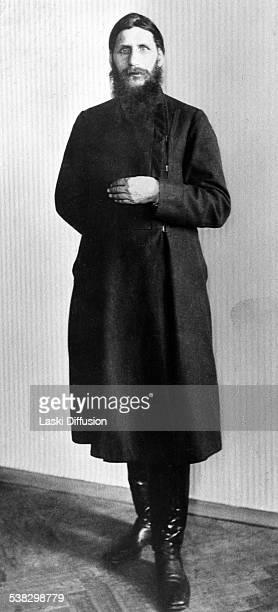 A portrait of Grigori Rasputin ca 1914 in Russia