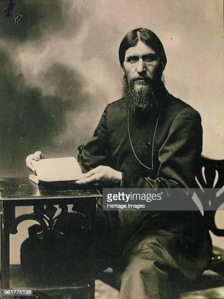 Portrait of Grigori Yefimovich Rasputin 1910s Private Collection
