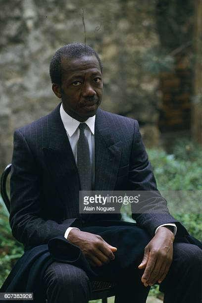 Portrait of Guinean government official and Minister Alpha Abdoulaye Diallo who spent 10 years in prison under the regime of Sekou Toure and later...