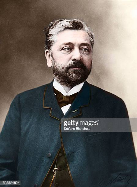 Portrait of Gustav Eiffel French engineer Head and shoulders photo by Nadar �� Stefano Bianchetti/Corbis